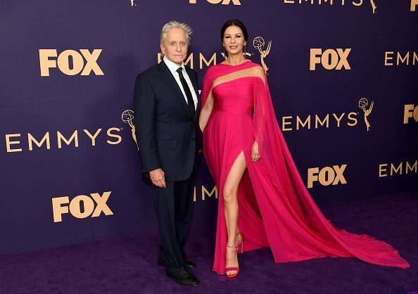 Michael Douglas and Catherine Zeta-Jones attend the 71st Emmy Awards at Microsoft Theater on September 22, 2019 in Los Angeles, California. | Photo: Getty Images