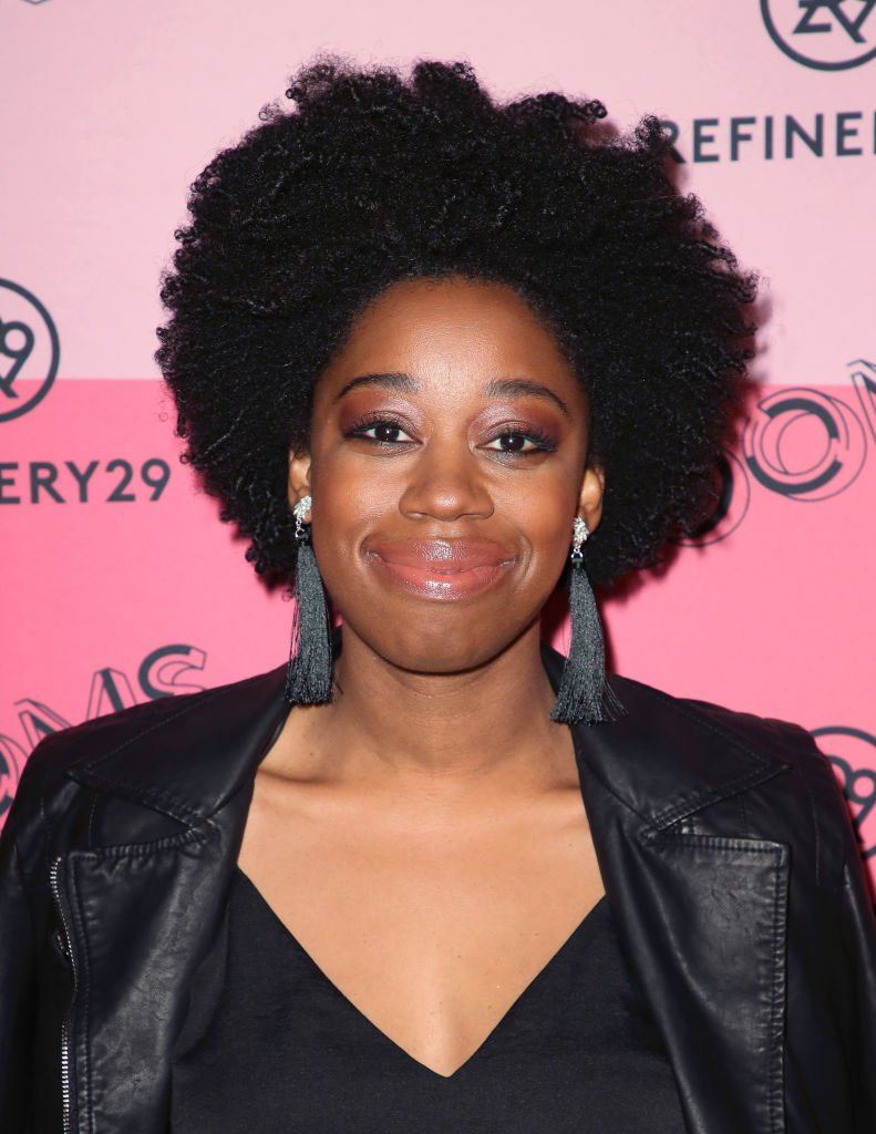 Diona Reasonover devant les photographes I Image: Getty Images.