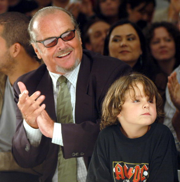 Jack Nicholson and his grandson Duke on September 12, 2004 | Photo: Getty Images