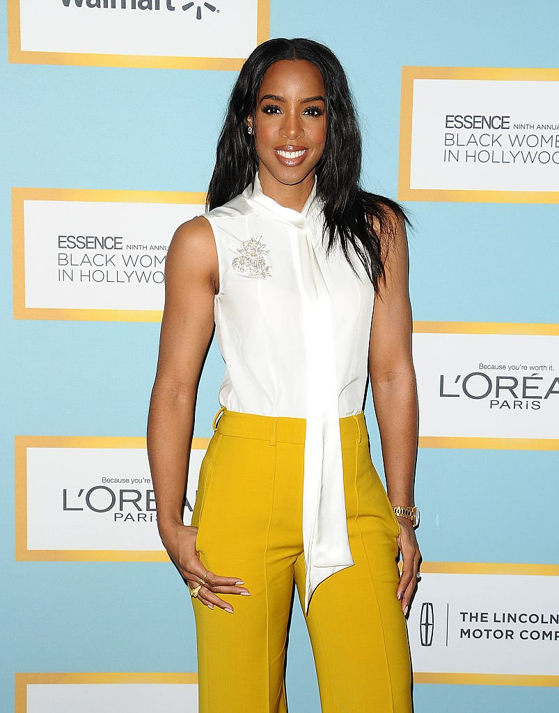 Kelly Rowland poses at the Essence Black Women in Hollywood Awards luncheon at the Beverly Wilshire Four Seasons Hotel in Beverly Hills on February 25, 2016. | Photo: Getty Images