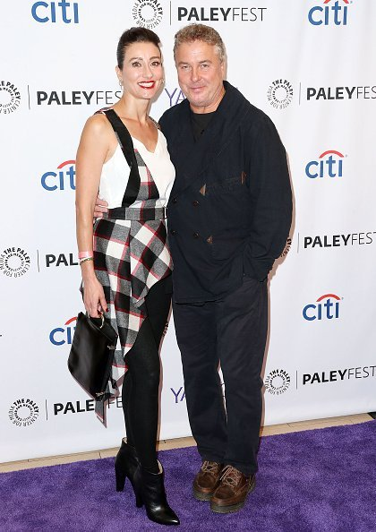"""Gina Petersen and actor William Petersen attend The Paley Center for Media's PaleyFest 2015 Fall TV Preview """"CSI"""" Farewell Salute at The Paley Center for Media on September 16, 2015, in Beverly Hills, California. 