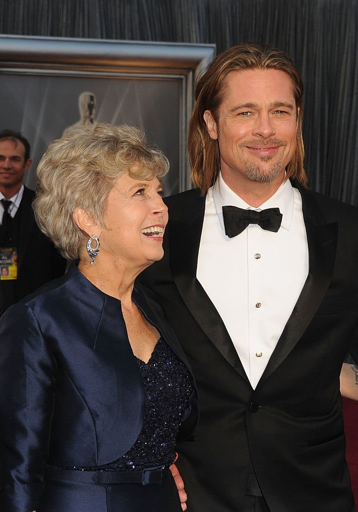 Brad Pitt and his mother Jane Pitt at the 84th Annual Academy Awards held at the Hollywood & Highland Center on February 26, 2012 in Hollywood, California.   Photo: Getty Images