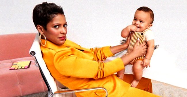 Tamron Hall & Son Moses Are All Smiles in Photo Shoot for Parents Magazine