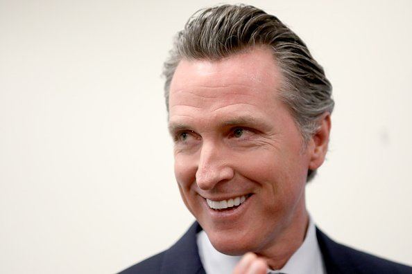 Governor Gavin Newsom at the Seven Trees Community Center in San Jose, Calif.| Photo: Getty Images.