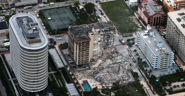 Man Admits He Has 'No Hope' after Miami Condo Collapse Where His Mom and Grandma Lived