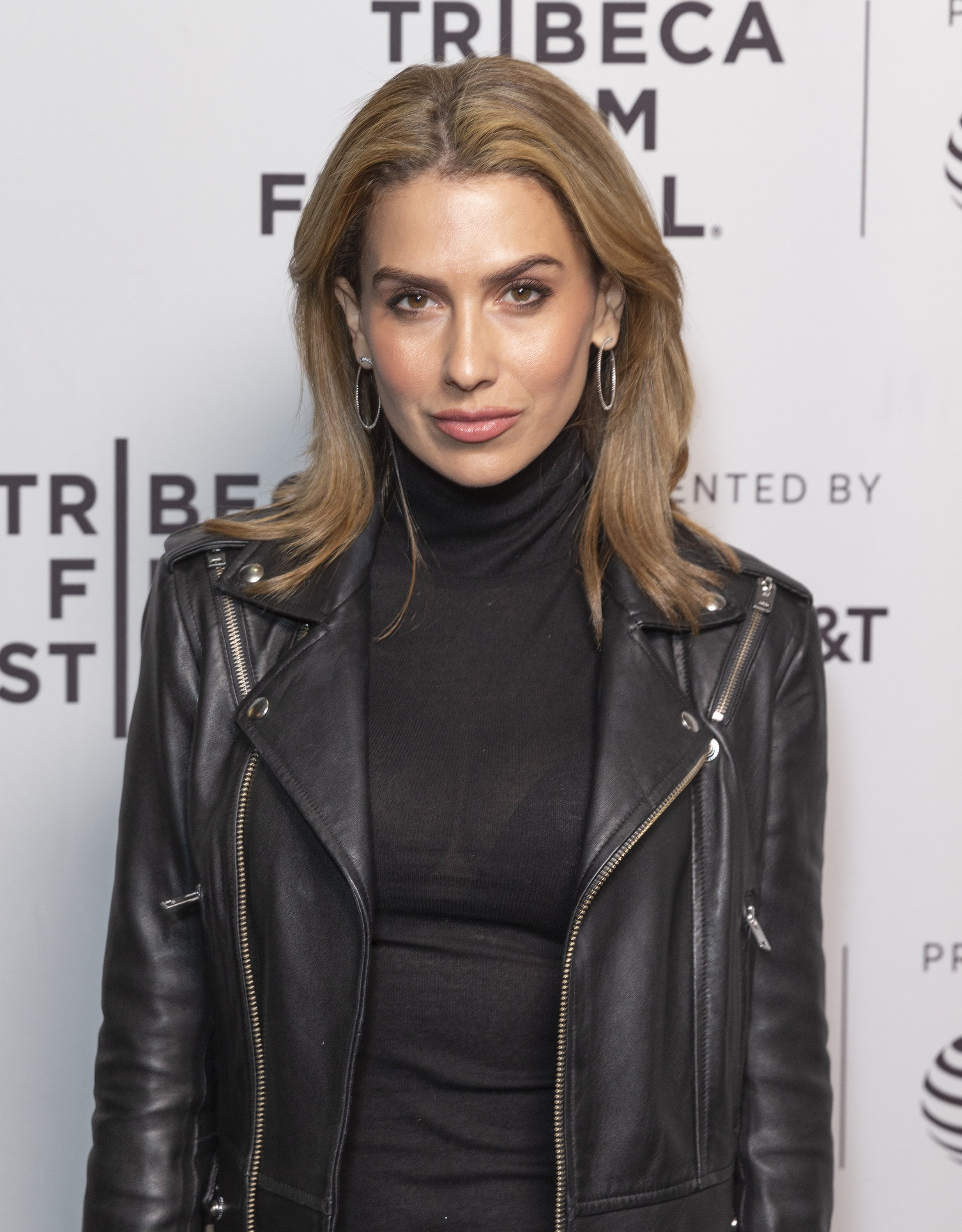 """Hilaria Baldwin at the world premiere of the film """"Crown Vic"""" at the Tribeca Film Festival at SVA Theatre in New York City 