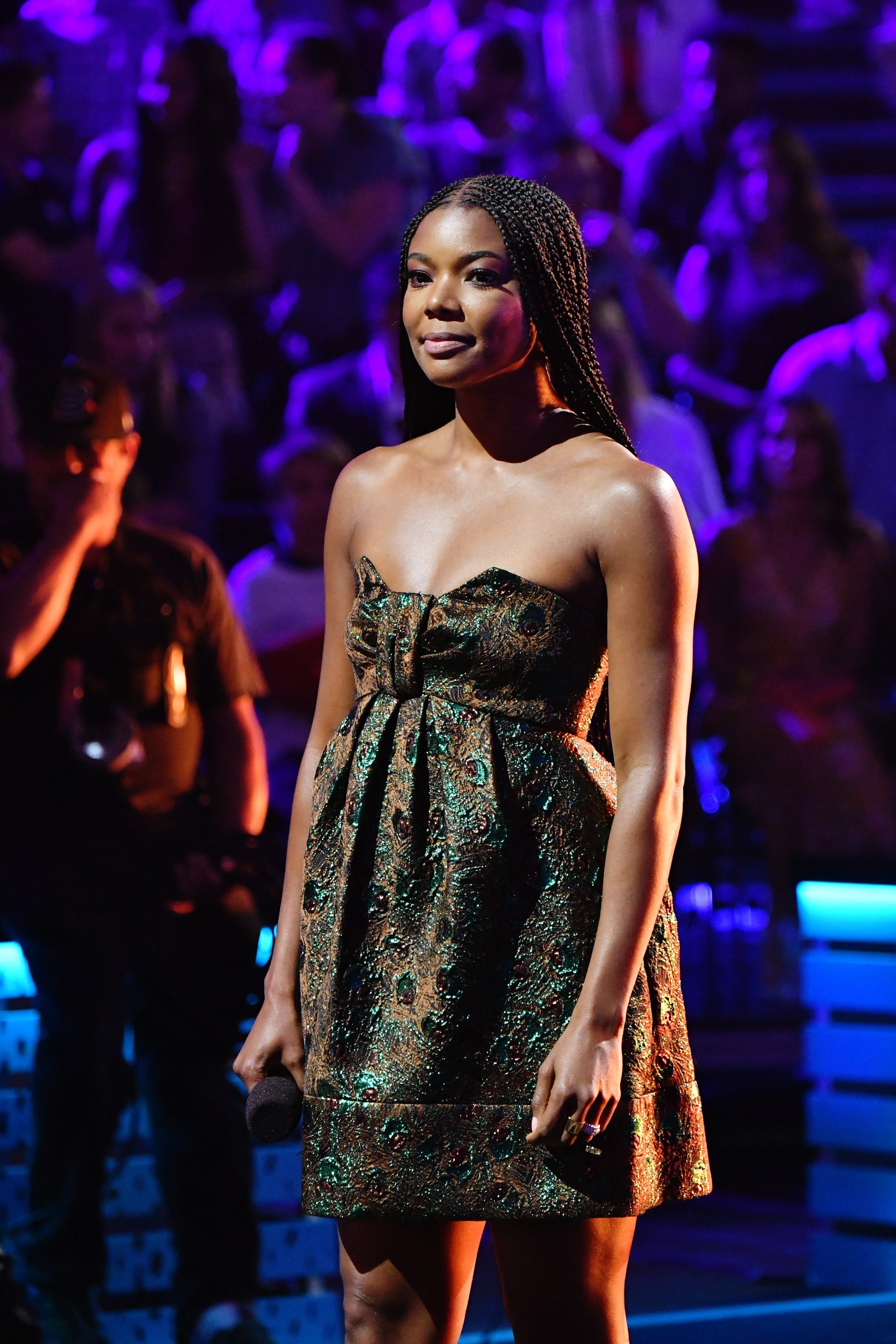 Gabrielle Union performs onstage during Nickelodeon Kids' Choice Sports 2019 at Barker Hangar on July 11, 2019, in Santa Monica, California | Source: Getty Images