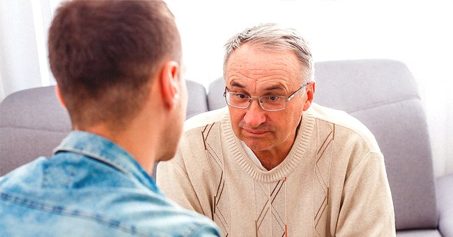 Daily Joke: An Elderly Man Calls His Son Who Doesn't Live at Home with Bad News