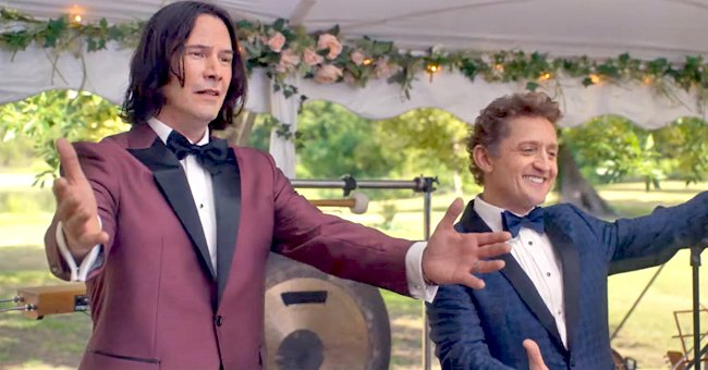 Keanu Reeves and Alex Winter Are Back to Party on First 'Bill & Ted Face the Music' Trailer