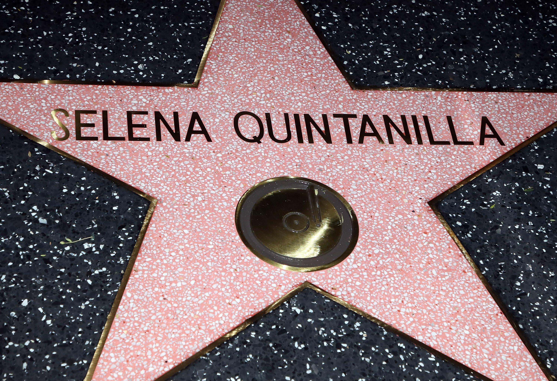 Estrella del Paseo de la Fama de Selena Quintanilla en Hollywood, California, el 3 de noviembre de 2017 || Fuente: Getty Images