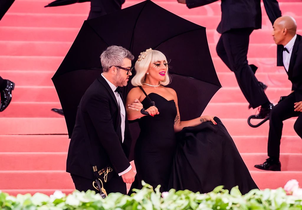 Brandon Maxwell and s Lady Gaga arriving at the Met Gala, May 2019   Source: Getty Images