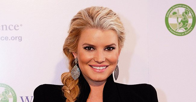 Check Out These New Pictures of Jessica Simpson's Precious Children Birdie Mae and Maxi Drew