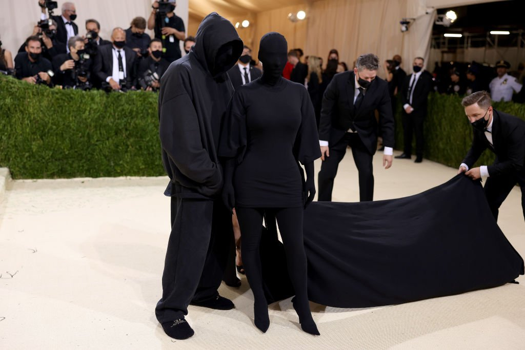 Kim Kardashian and Demna Gvasalia attend The 2021 Met Gala Celebrating In America: A Lexicon Of Fashion , September 2021 | Source: Getty Images