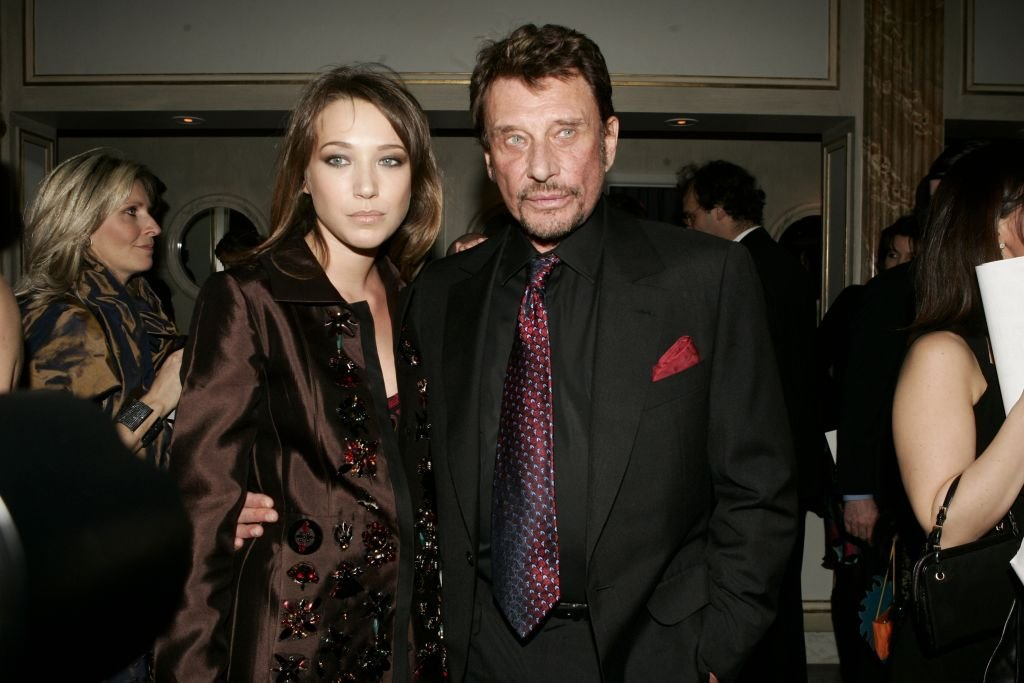 Laura Smet et son père / Source : Getty Images