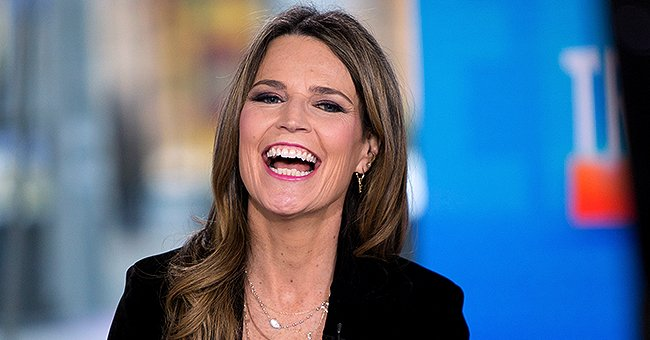 'Today' Co-host Savannah Guthrie's Mic Dropped down Her Shirt Right before Going Live On-Air