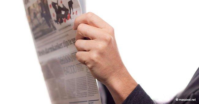 Eine Frau hat beim Lesen der Zeitung die lustigste Antwort für ihren Mann