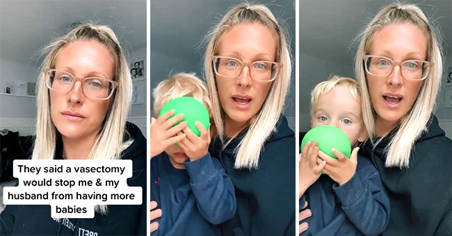 39-year-old Kate Harman taking to TikTok to explain her contraception story and show off her baby named Buddy. | Source: tiktok.com/harmany82