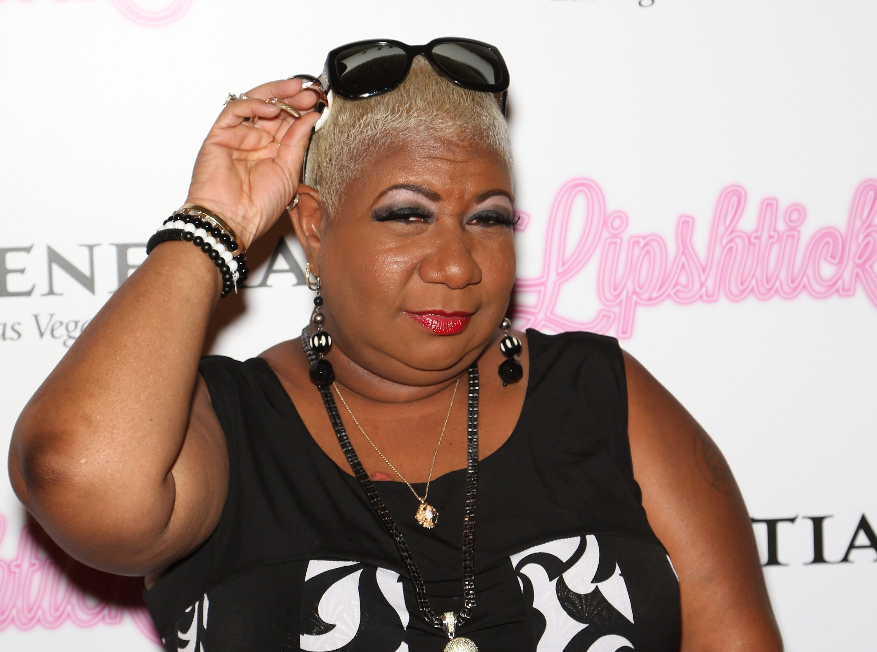 """Luenell at the debut of """"Lipshtick - The Perfect Shade of Stand-Up"""" at The Venetian Las Vegas on July 11, 2014 in Las Vegas, Nevada   Photo: Getty Images"""