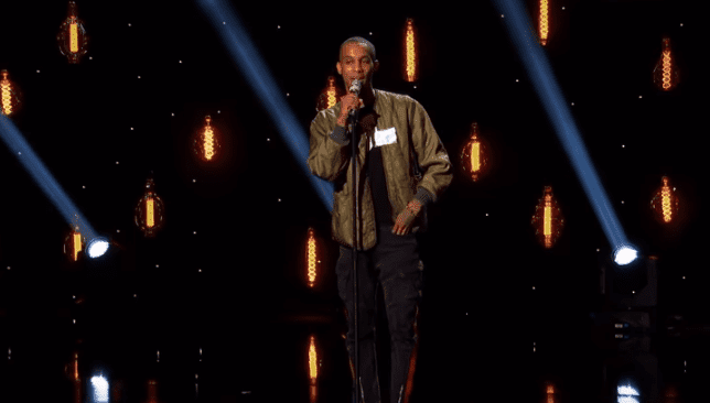 Dimitrius Graham perform on American Idol. | Source: YouTube/American Idol