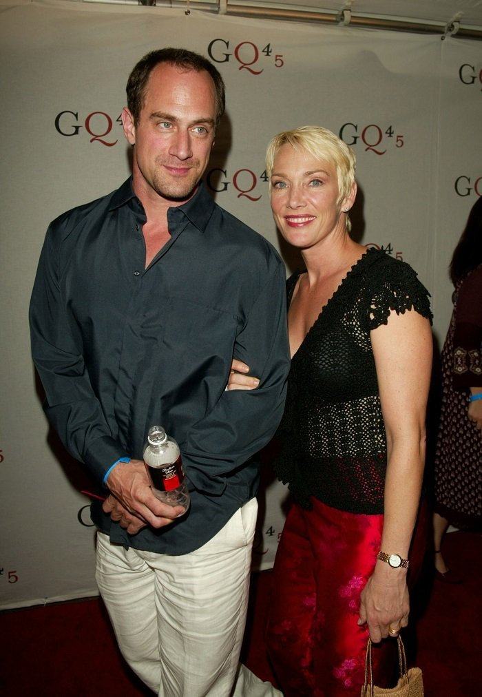 Christopher Meloni and his wife Sherman Williams I Image: Getty Images