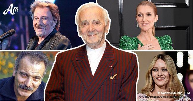 Charles Aznavour: les meilleurs duos qu'il ait eu avec des chanteurs pendant sa carrière