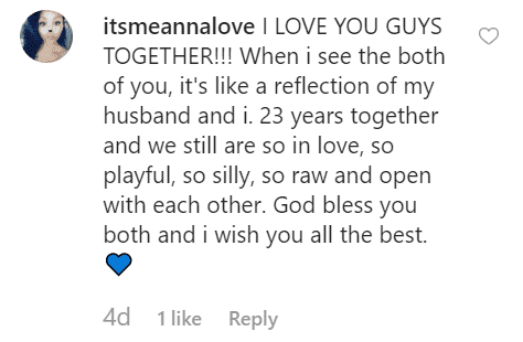 Fan comment on Leland Chapman's post | Instagram: @lelandbchapman