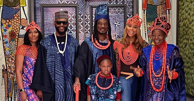 Tamar Braxton Visits Nigeria with Boyfriend David Adefeso, Some Fans Hear Wedding Bells
