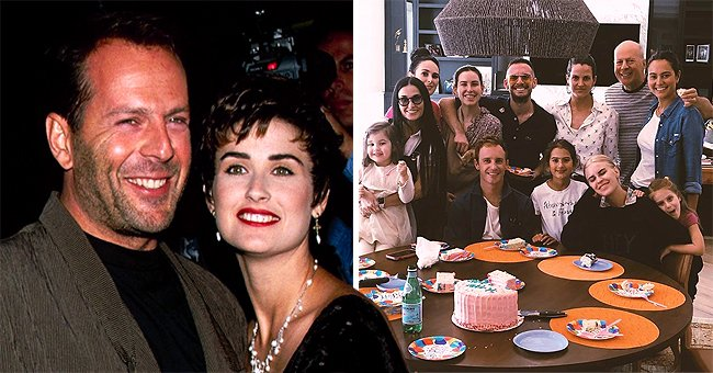 Demi Moore Compliments Her Ex Bruce Willis on Father's Day