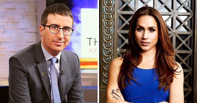 John Oliver Shares His Thoughts on Meghan Markle & Prince Harry's Interview with Oprah