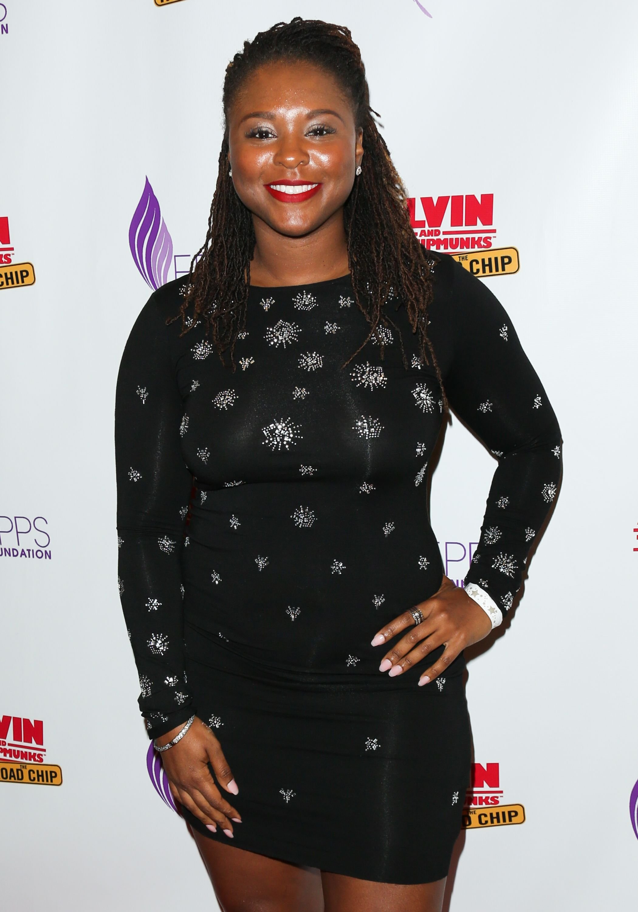 """Torrei Hart at a special screening of """"Alvin And The Chipmunks: The Road Chip"""" on December 13, 2015 in Century City, California   Photo: Getty Images"""