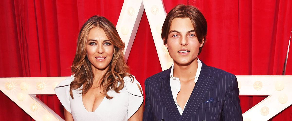Damian Hurley Signed Modeling Contract — Facts about Elizabeth Hurley's Extremely Handsome Son
