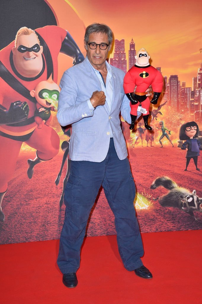 "Gerard Lanvin assiste à la projection spéciale ""Les Indestructibles 2"" Paris au Grand Rex le 17 juin 2018 à Paris, France. 