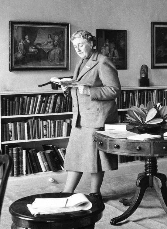 Agatha Christie. | Imagen: Flickr