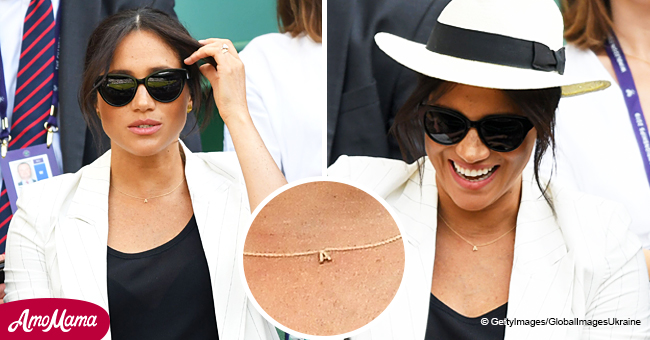 Meghan Markle Debuts Lovely 'A' Necklace in Sweet Tribute to Baby Archie