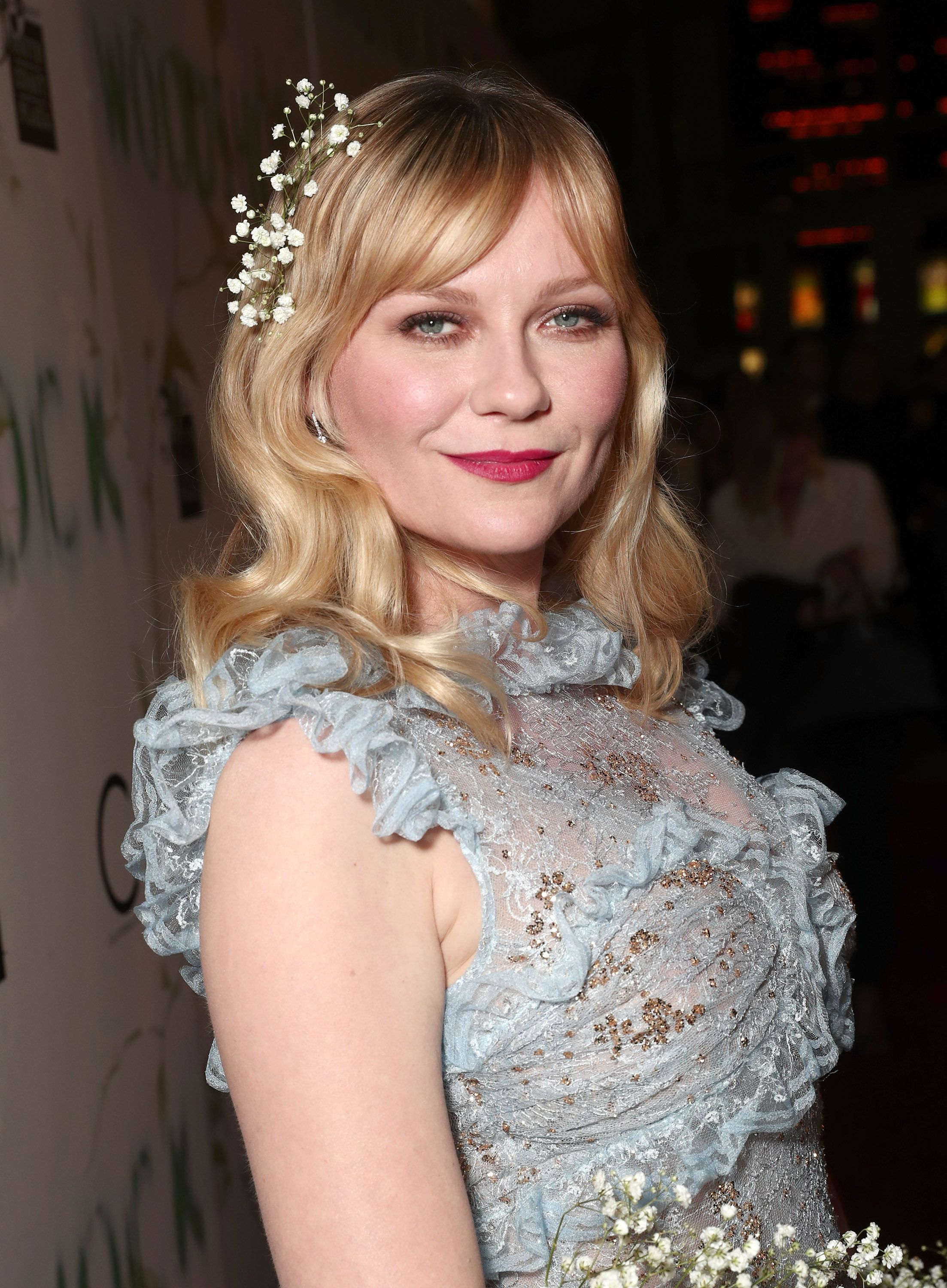 """Kirsten Dunst attends the premiere Of A24's """"Woodshock"""" at ArcLight Cinemas on September 18, 2017 in Hollywood, California. 