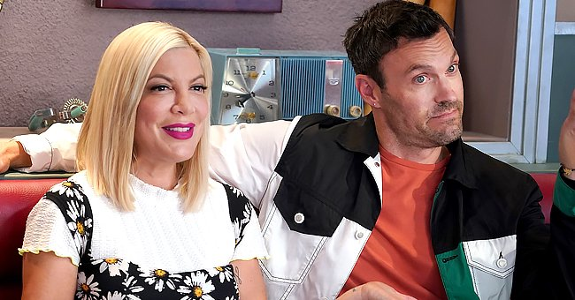 See Tori Spelling's Take on '90210' Co-star Brian Austin Green's Debut on 'The Masked Singer'
