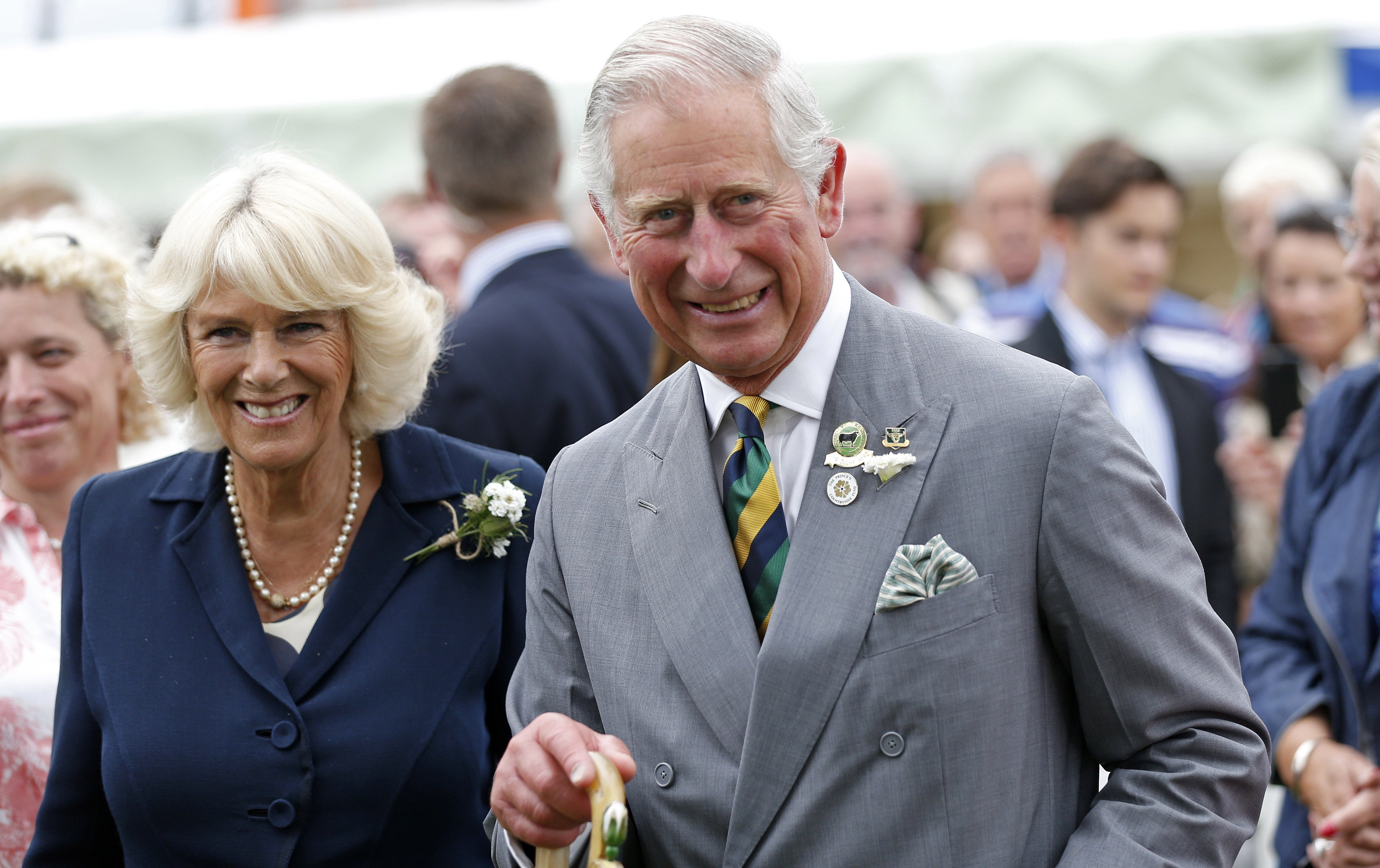 Camilla, Duchess of Cornwall and Prince Charles, Prince of Wales attend The Great Yorkshire Show on July 14, 2015 | Photo: GettyImages