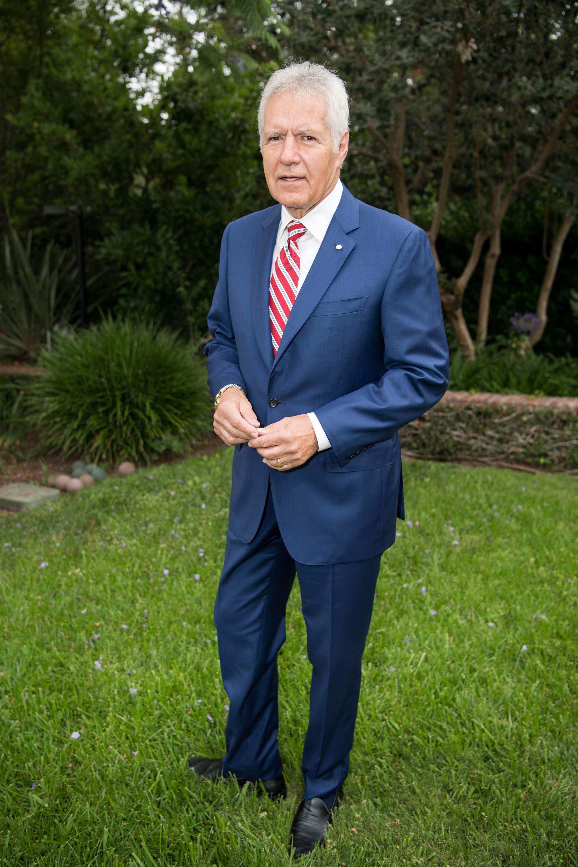 Alex Trebek at the 150th anniversary of Canada's Confederation at the Official Residence of Canada on June 30, 2017 in Los Angeles, California | Photo: Getty Images