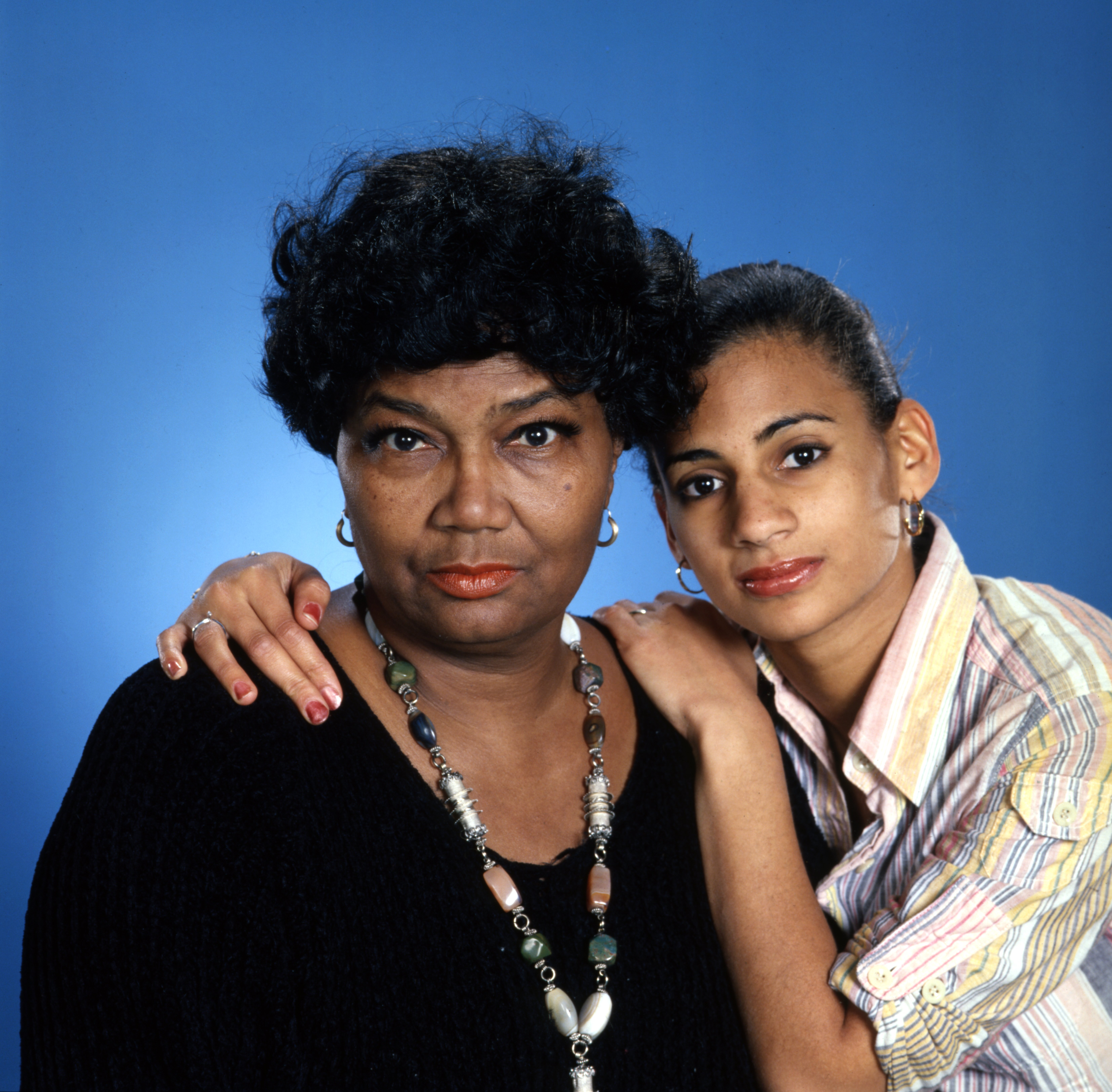 """Pearl Bailey and her daughter Dee Dee Bellson for the CBS special """"All-Star Salute to Pearl Bailey,"""" March 14, 1979 