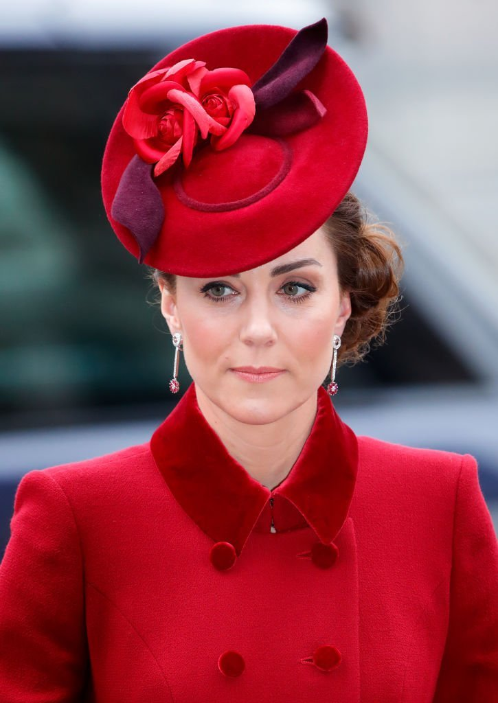Duchess of Cambridge attends the Commonwealth Day Service 2020 at Westminster Abbey on March 9, 2020 in London, England. | Photo: Getty Images