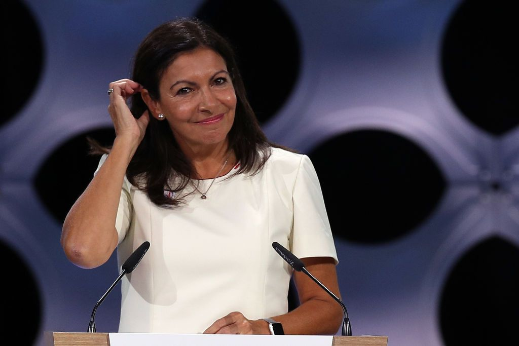 La maire de Paris Anne Hidalgo. | Photo : Getty Images.