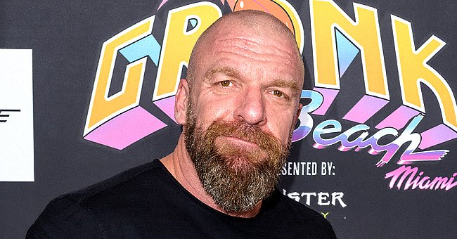 """Paul Levesque """"Triple H"""" attends Gronk Beachat North Beach Bandshell on February 1, 2020 in Miami, Florida 