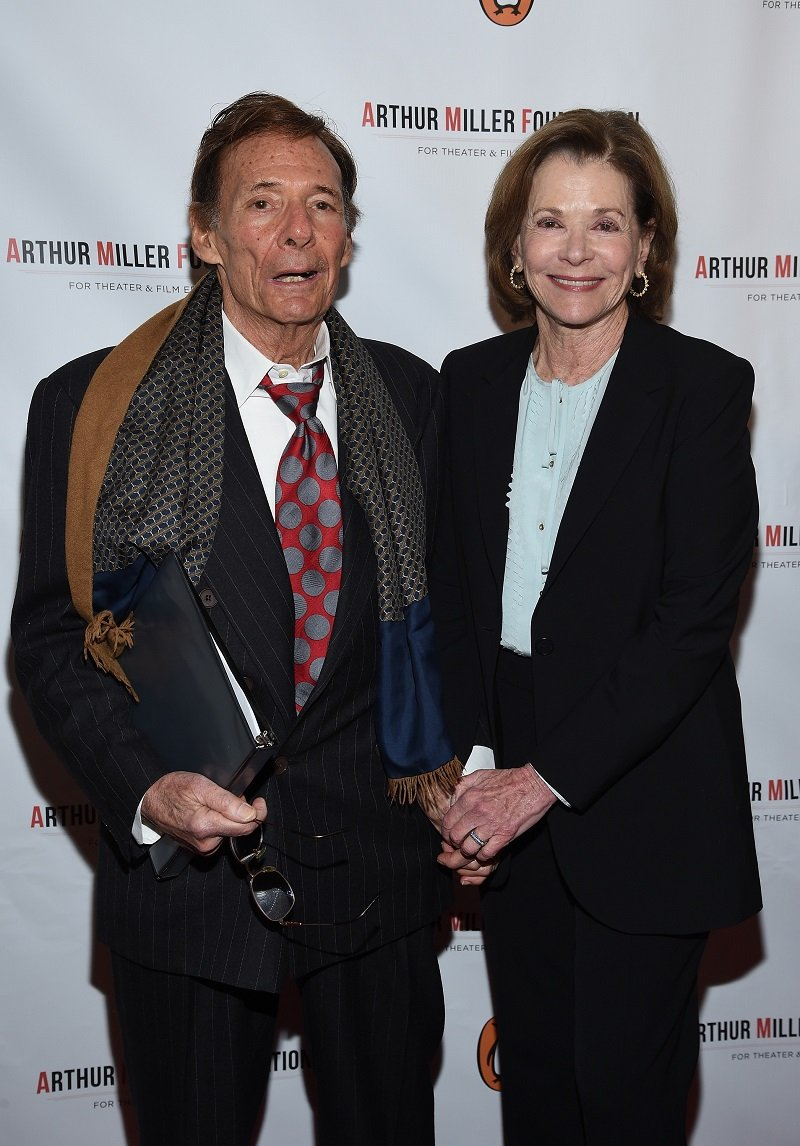 Ron Leibman and Jessica Walter on January 25, 2016 in New York City | Photo: Getty Images