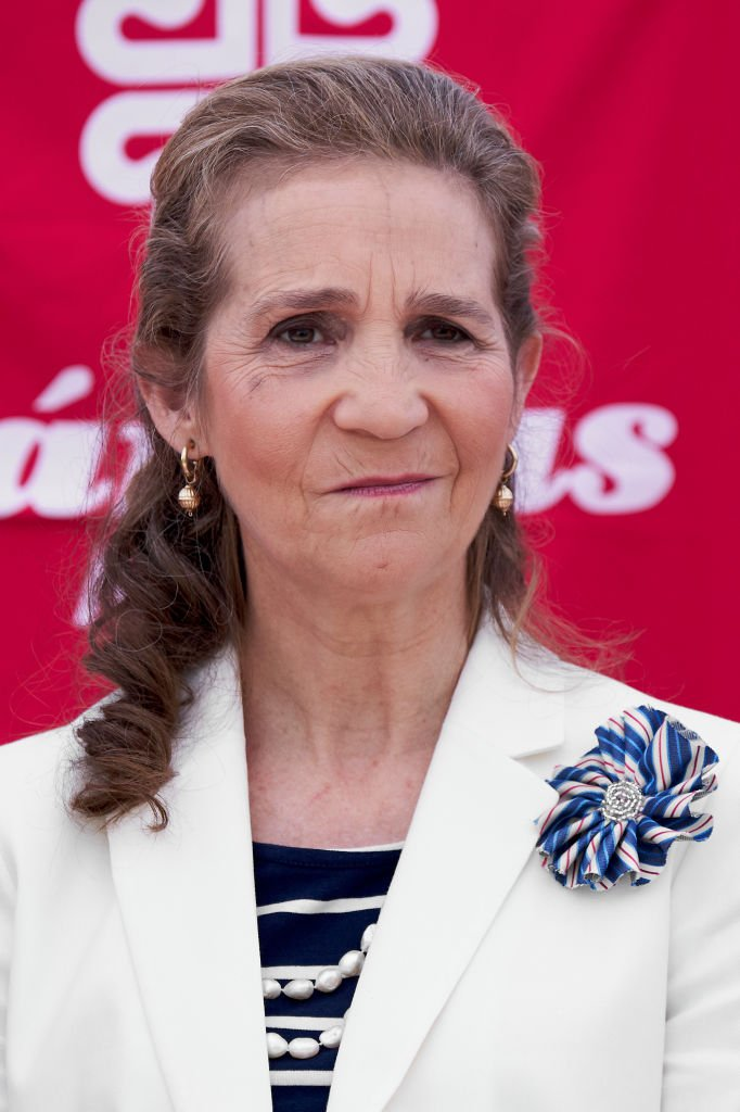 La infanta Elena en Madrid, en 2018. | Foto: Getty Images