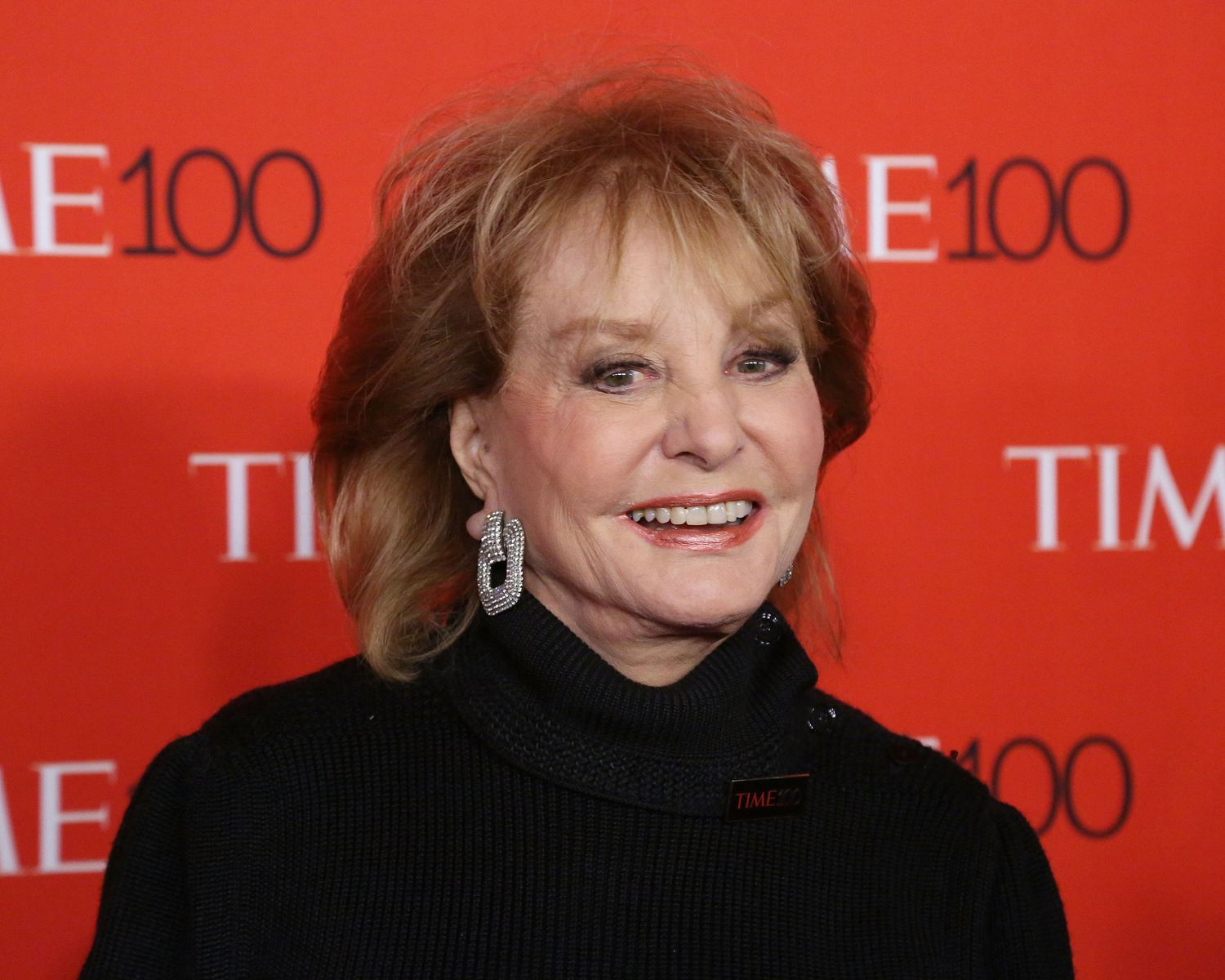 TV personality Barbara Walters at the 2015 Time 100 Gala at Frederick P. Rose Hall, Jazz at Lincoln Center on April 21, 2015 | Photo: Getty Images