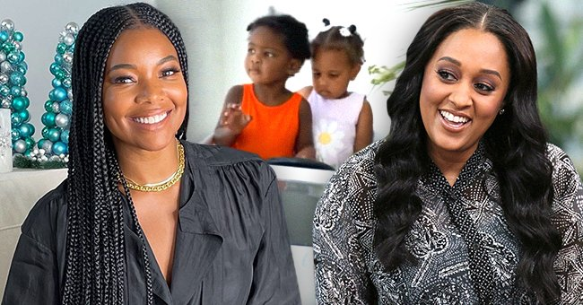 Tia Mowry & Gabrielle Union's Daughters Reunite Again for Another Playdate