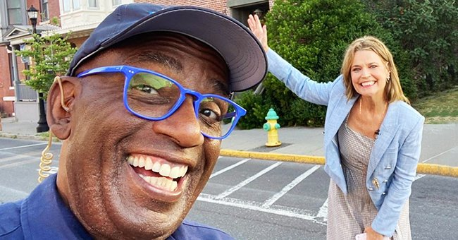 Al Roker and Savannah Guthrie Reunite to Film 'Today Show' Outdoors after Working from Home