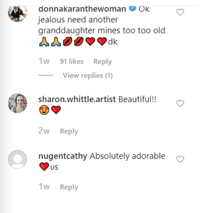 Fan comment on Barbra Streisand's post.   Source: Instagram/BarbraStreisand