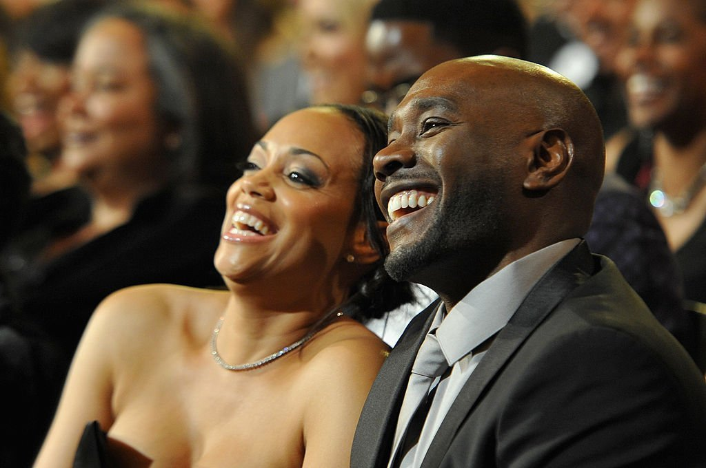 Pam Byse (L) and Morris Chestnut attend the 45th NAACP Image Awards presented by TV One at Pasadena Civic Auditorium | Photo: Getty Images
