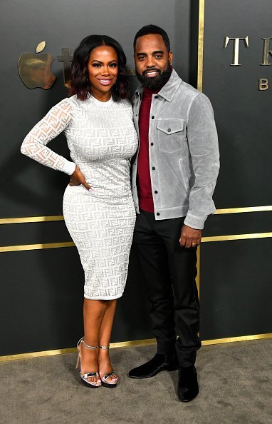 """Kandi Burruss and Todd Tucker attend the Premiere Of Apple TV+'s """"Truth Be Told"""" on November 11, 2019 